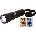 Dual Xenon and LED Flashlight