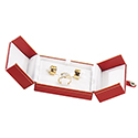 Clip Earring/Ring Box - Royal Collection (12 pack)