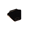 Fold-Over Necklace Cards - Black