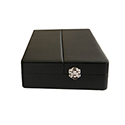 Leathetette Parcel Box - 6 Compartments