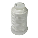 White Silk Bead Spool - Size F, 140 Yards