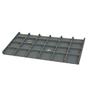 24 Utility Compartment Tray - Rain Linen