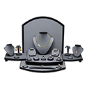 30 Piece Display Set - Steel Gray