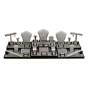 35 Piece Display Set - Steel Gray
