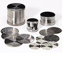 I. David Small Sieve Set - 00-20 - 41 Plates