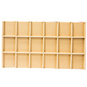 18 Compartment Tray Insert - Thatch
