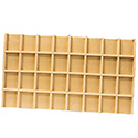 32 Compartment Tray Insert - Thatch