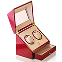 Steinhuasen Cherrywood Double Watch Winder with Drawer