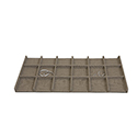 Watercress Linen - 18 Compartment Utility Tray